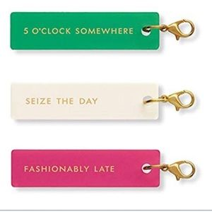 Kate Spade Fashionably Late Planner Charm